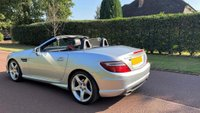 USED 2015 15 MERCEDES-BENZ SLK 2.1 SLK250 CDI BlueEFFICIENCY AMG Sport 7G-Tronic Plus (s/s) 2dr F/S/H+MOT TILL 2021+BLUETOOTH