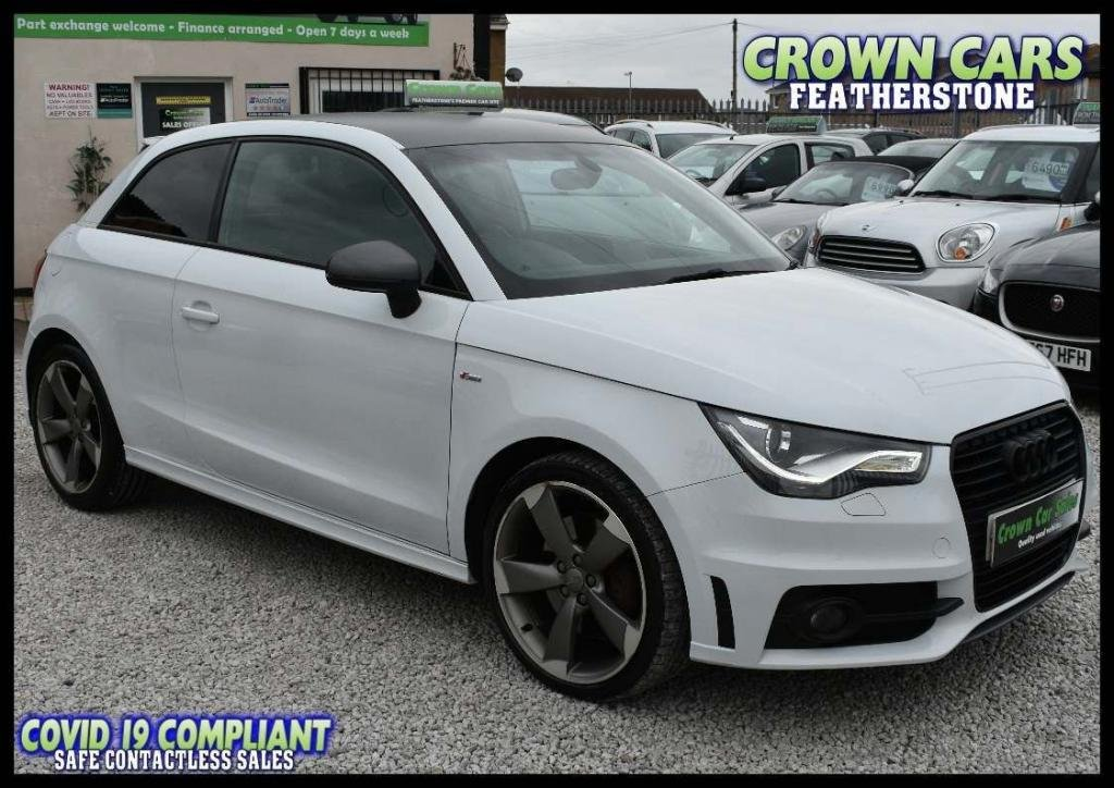 USED 2014 14 AUDI A1 2.0 TDI Black Edition 3dr AMAZING LOW RATE FINANCE DEALS