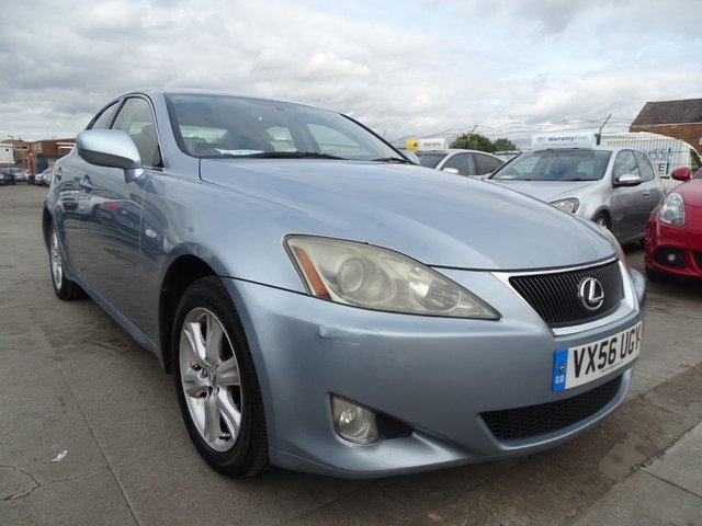 USED 2006 56 LEXUS IS 2.2 220D 4d 175 BHP DRIVES WELL