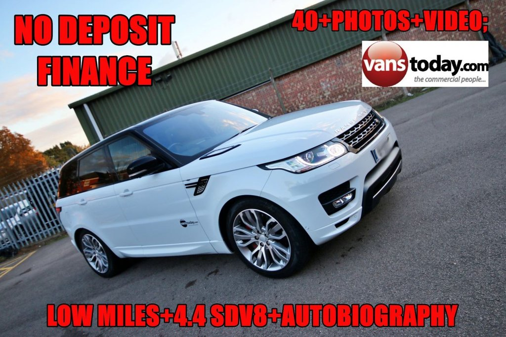 USED 2015 65 LAND ROVER RANGE ROVER SPORT 4.4 SDV8 AUTOBIOGRAPHY DYNAMIC 5d 339 BHP GREAT SPEC AUTOBIOGRAPHY WITH 4.4 SDV8 ENGINE + LOW MILES