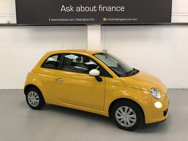 USED 2012 12 FIAT 500 1.2 COLOUR THERAPY 3d 69 BHP