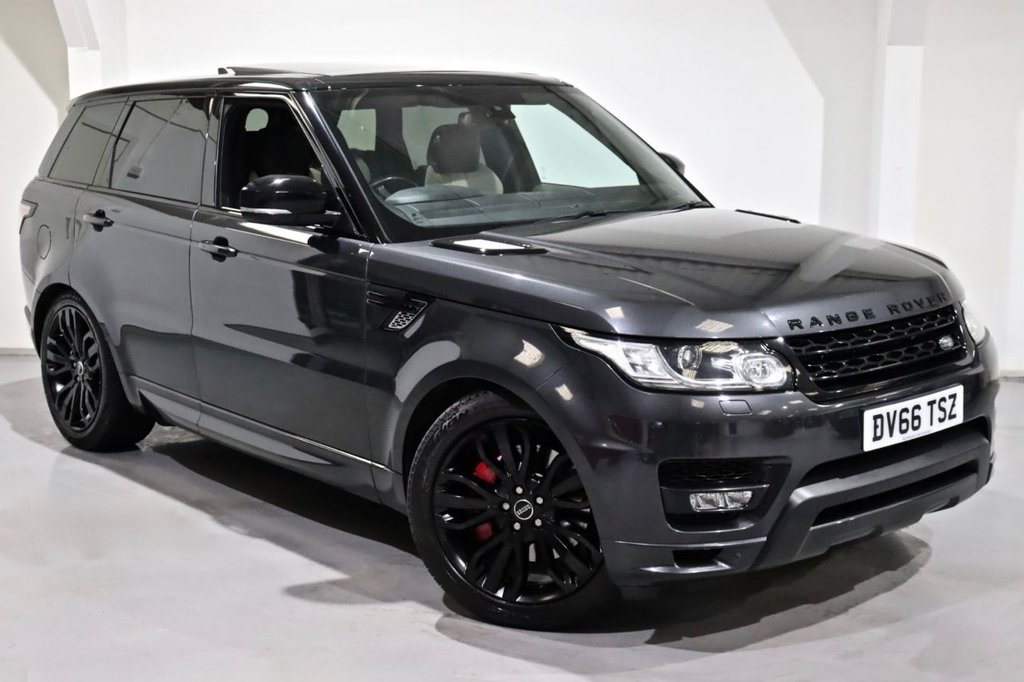 USED 2016 66 LAND ROVER RANGE ROVER SPORT 3.0 SDV6 AUTOBIOGRAPHY DYNAMIC 5d 306 BHP