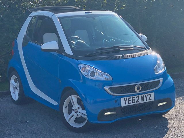USED 2013 62 SMART FORTWO 1.0 ICESHINE EDITION MHD 2d COMPREHENSIVE SERVICE HISTORY, MOT TO SEPTEMBER 2021, SATELLITE NAVIGATION, BLUETOOTH