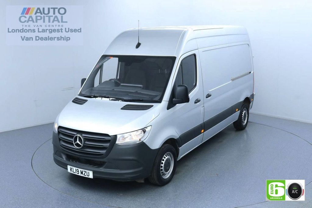 USED 2019 19 MERCEDES-BENZ SPRINTER 2.1 314 CDI 141 BHP L2 H2 MWB Euro 6 Low Emission Air Conditioning | Fully Sanitised Service | UK Delivery