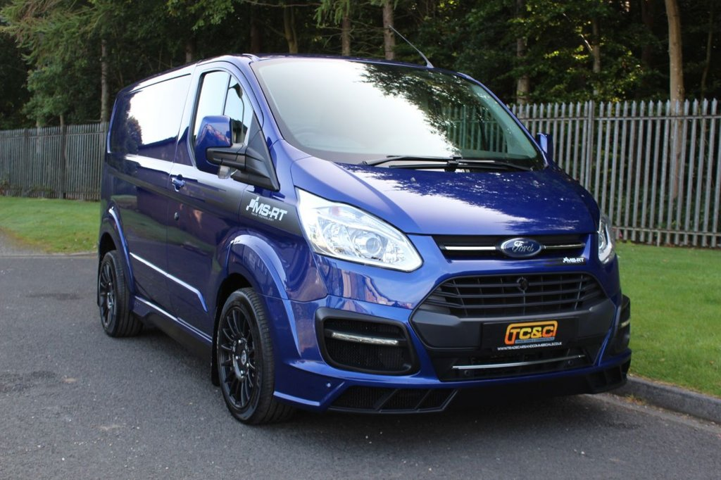 USED 2018 68 FORD TRANSIT CUSTOM 2.0 290 MS-RT M SPORT LR P/V 168 BHP AN IMMACULATE LOW MILEAGE, LOW OWNER VAN WITH FULL HISTORY AND NO VAT!!!