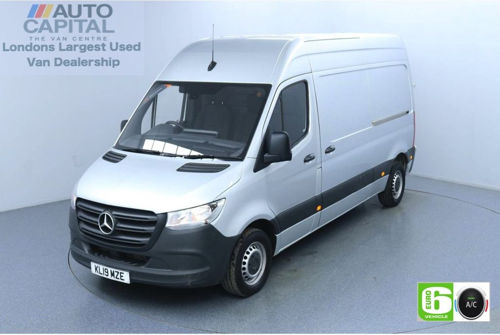 USED 2019 19 MERCEDES-BENZ SPRINTER 2.1 314 CDI 141 BHP L2 H2 MWB Euro 6 Low Emission Air Con | Keyless Go | Apple CarPlay | Android Auto | MBUX Multimedia | 7-Inch Touch Screen | Active Brake Assist