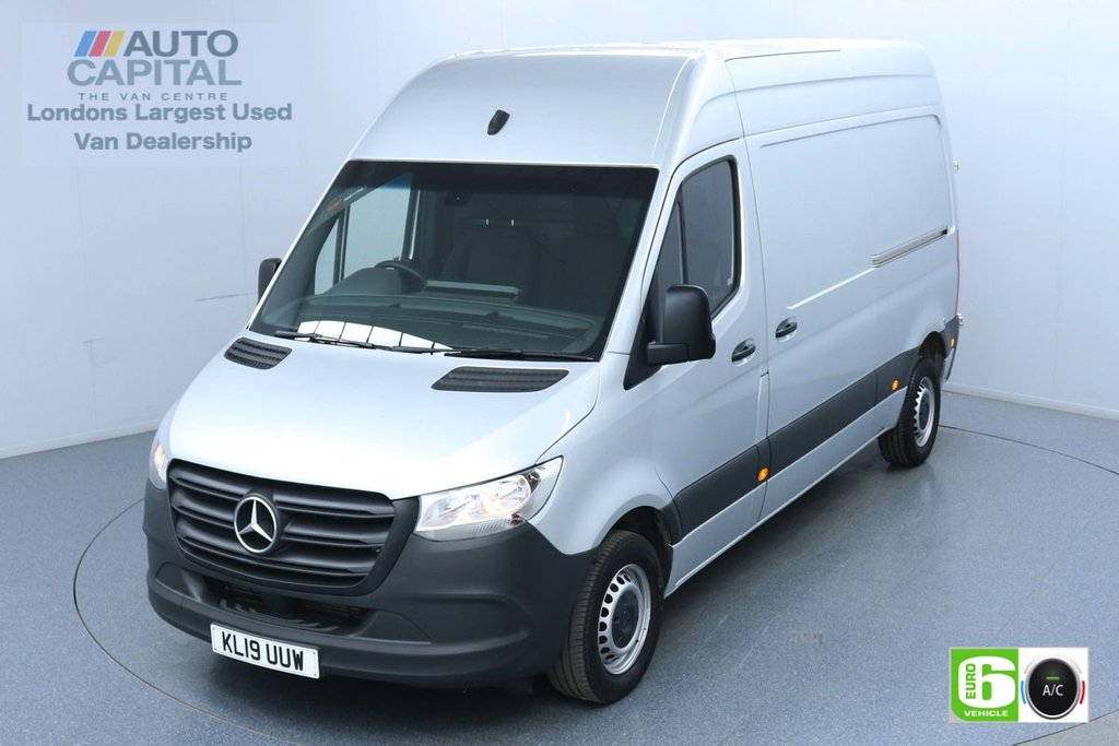 USED 2019 19 MERCEDES-BENZ SPRINTER 2.1 314 CDI 141 BHP L2 H2 MWB Euro 6 Low Emission Finance Available Online   Air Conditioning   UK Delivery