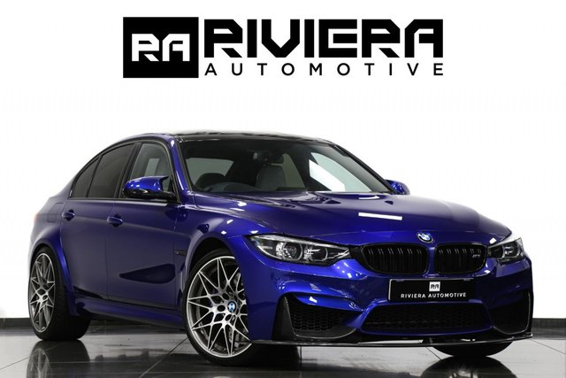 2017 BMW M3 3.0 M3 COMPETITION PACKAGE 4d 444 BHP
