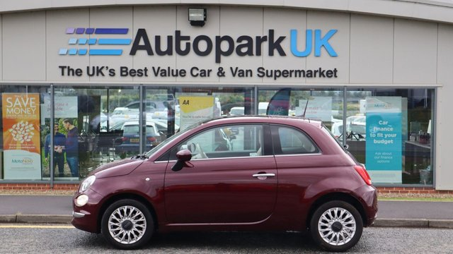 USED 2017 66 FIAT 500 1.2 LOUNGE 3d 69 BHP LOW DEPOSIT OR NO DEPOSIT FINANCE AVAILABLE . COMES USABILITY INSPECTED WITH 30 USABILITY WARRANTY + LOW COST 12 MONTHS ESSENTIALS WARRANTY AVAILABLE FOR ONLY DAYS £199 . ALWAYS DRIVING DOWN PRICES . BUY WITH CONFIDENCE . OVER 1000 GENUINE GREAT REVIEWS OVER ALL PLATFORMS FROM HONEST CUSTOMERS YOU CAN TRUST .