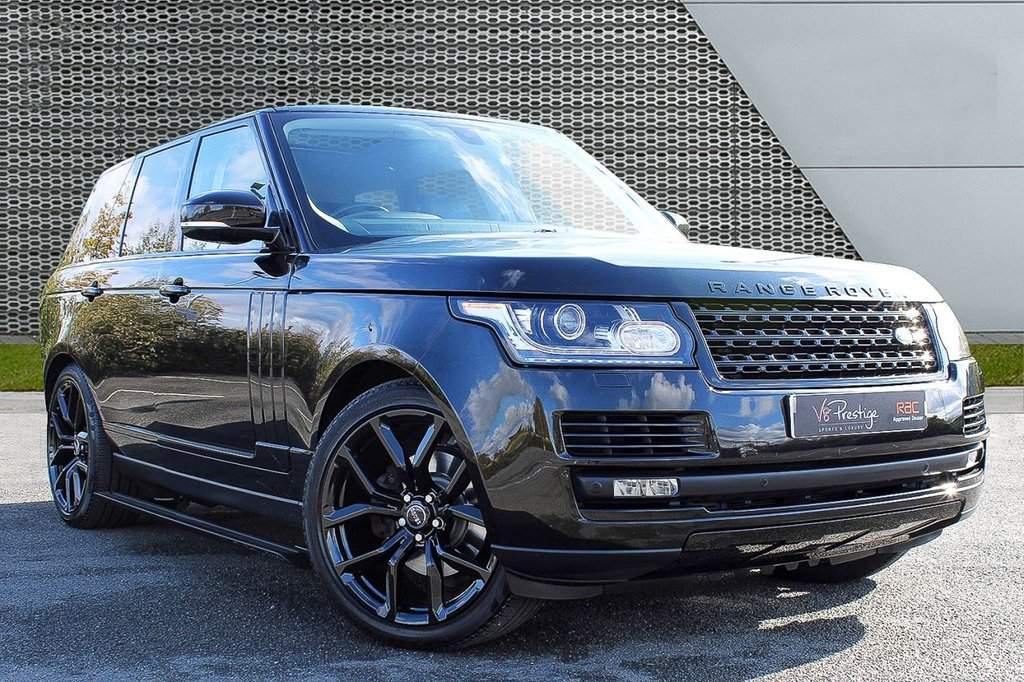 "USED 2015 65 LAND ROVER RANGE ROVER 3.0 TDV6 VOGUE 5d 255 BHP *STEALTH PACK/22"" SVR ALLOYS*"