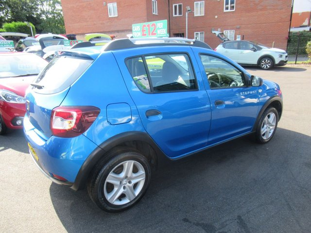 USED 2016 16 DACIA SANDERO 0.9 STEPWAY AMBIANCE TCE 5d 90 BHP ** JUST ARRIVED ** NO DEPOSIT DEALS **