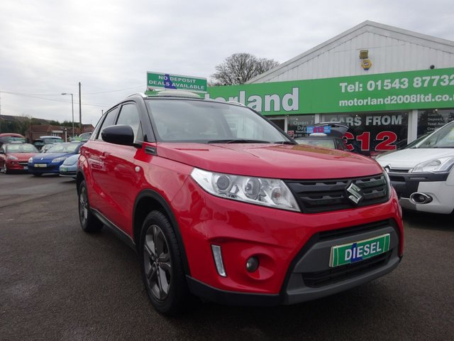 USED 2016 16 SUZUKI VITARA 1.6 SZ-T DDIS 5d 118 BHP **CLICK AND COLLECT ON YOUR NEXT CAR**