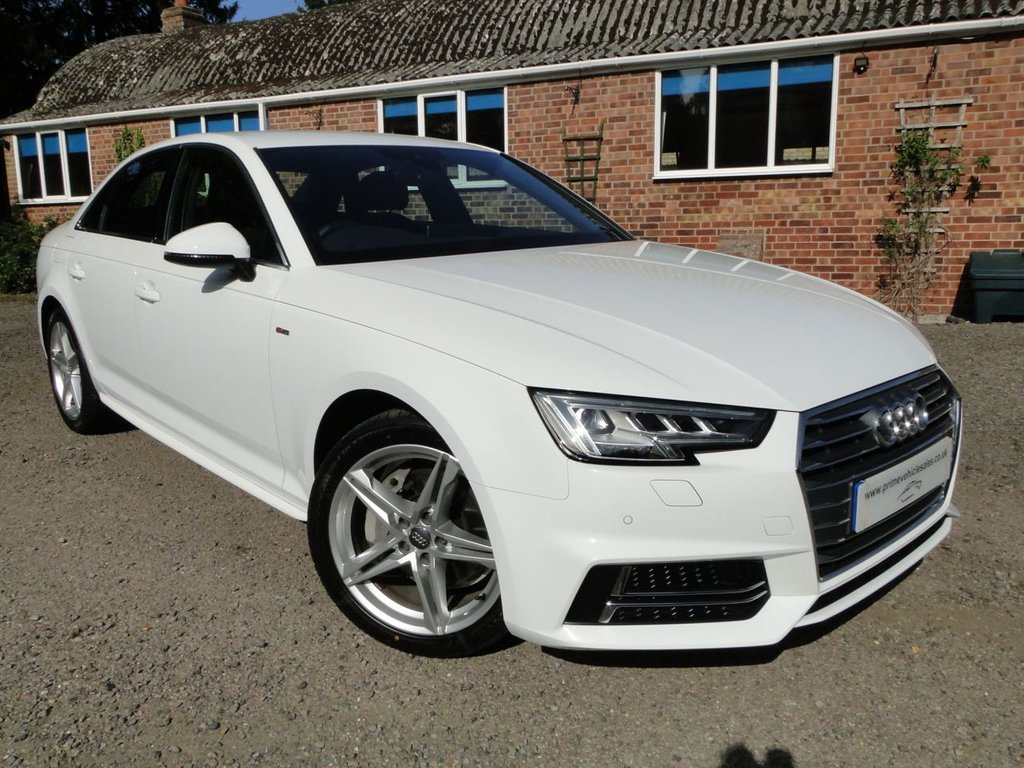 USED 2016 66 AUDI A4 2.0 TDI 190 S-Line S-Tronic (s/s) 4dr