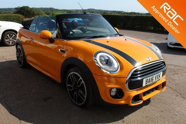 USED 2016 16 MINI CONVERTIBLE 1.5 COOPER 2d 134 BHP VIEW AND RESERVE ONLINE OR CALL 01527-853940 FOR MORE INFO.