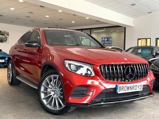 USED 2016 66 MERCEDES-BENZ GLC-CLASS 2.1 GLC 220 D 4MATIC AMG LINE PREMIUM PLUS 4d 168 BHP SUNROOF+R-CAM+BURMESTER+BLK PK