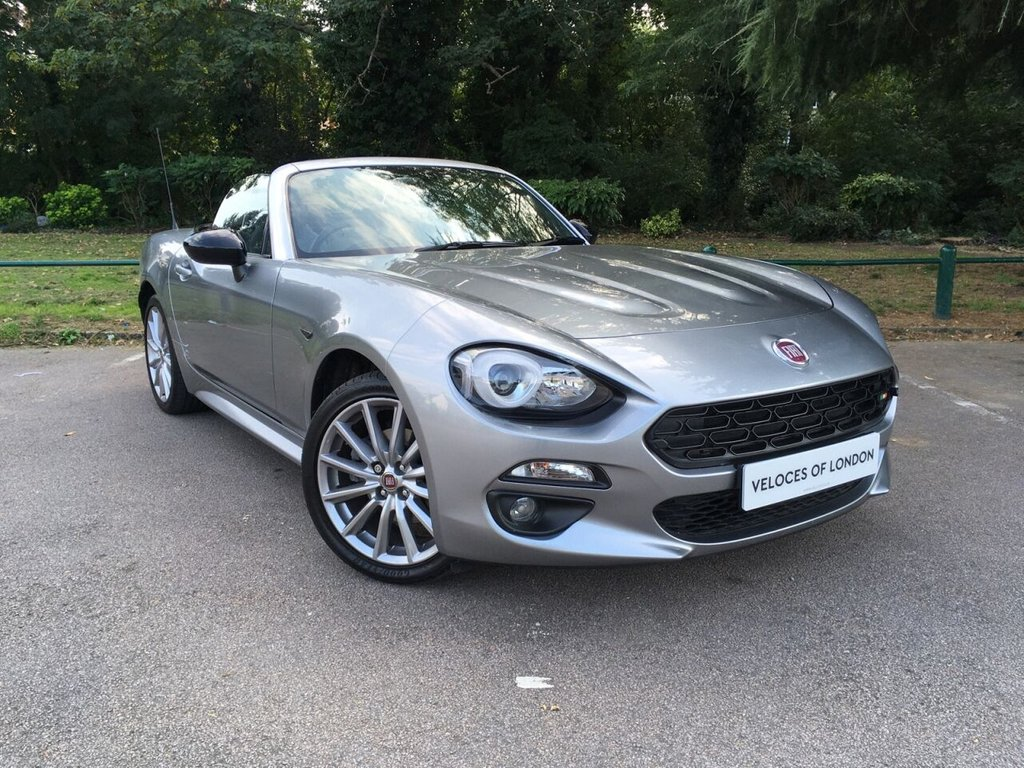 USED 2018 18 FIAT 124 1.4 SPIDER MULTIAIR LUSSO 2d 139 BHP ..UK WIDE DELIVERY AVAILABLE..