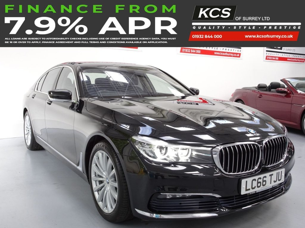 USED 2016 66 BMW 7 SERIES 3.0 730D 4d 261 BHP COMFORT SEATS-HTD COMFORT PACK