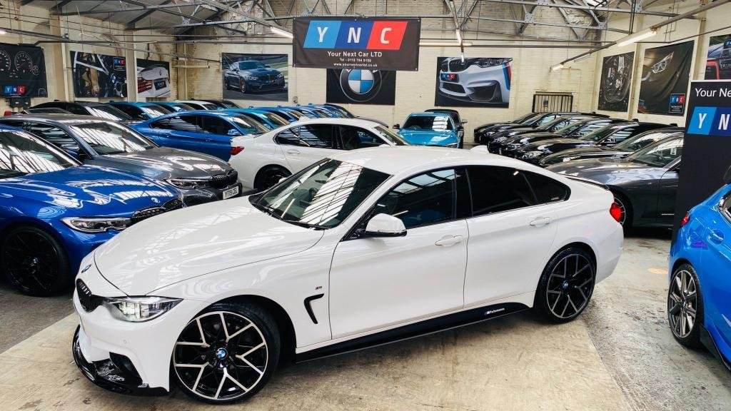 USED 2017 17 BMW 4 SERIES 3.0 430d M Sport Gran Coupe Sport Auto (s/s) 5dr PERFORMANCEKIT+20S+FACELIFT
