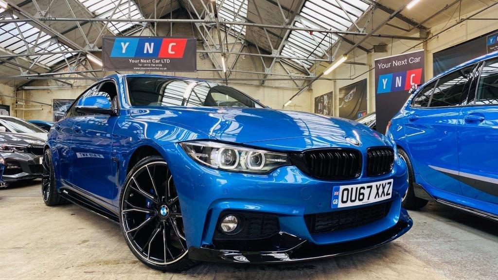 USED 2017 67 BMW 4 SERIES 2.0 420d M Sport Gran Coupe Auto (s/s) 5dr PERFORMANCEKIT+HEADUP+REVCAM!