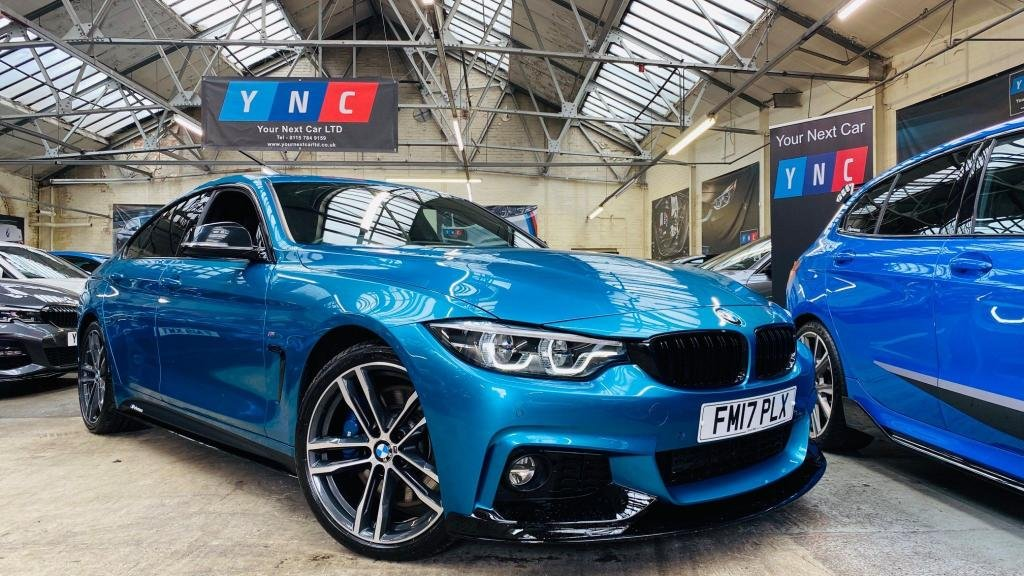 USED 2017 17 BMW 4 SERIES 3.0 430d M Sport Gran Coupe Auto (s/s) 5dr PERFORMANCEKIT+MASSIVESPEC!19S