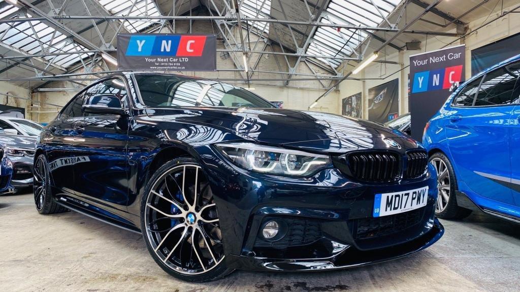 USED 2017 17 BMW 4 SERIES 2.0 420d M Sport Gran Coupe Auto (s/s) 5dr PERFORMANCEKIT+ADAPLEDS+PLUSPK