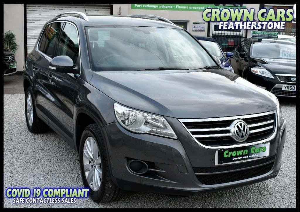 USED 2011 11 VOLKSWAGEN TIGUAN 2.0 TDI BlueMotion Tech Match (s/s) 5dr AMAZING LOW RATE FINANCE DEALS