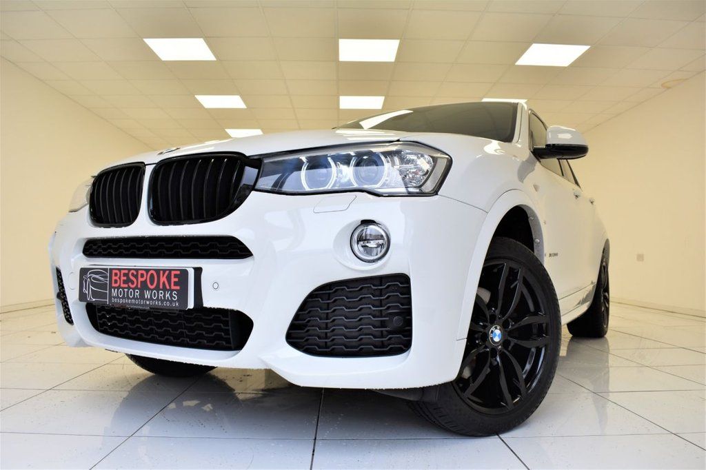 USED 2015 65 BMW X4 XDRIVE20D M SPORT AUTOMATIC