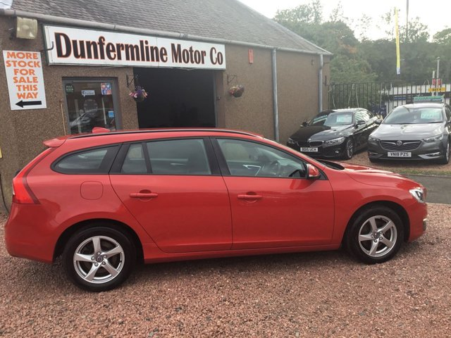 USED 2017 17 VOLVO V60 2.0 D3 BUSINESS EDITION 5d 148 BHP ++1 OWNER+FULL DEALER HISTORY ++