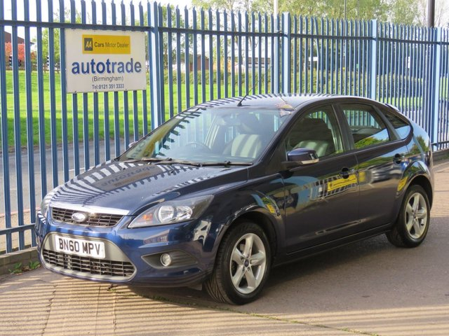 USED 2010 60 FORD FOCUS 1.6 ZETEC 5d 99 BHP Bluetooth Phone Preparation, Heated Front Screen