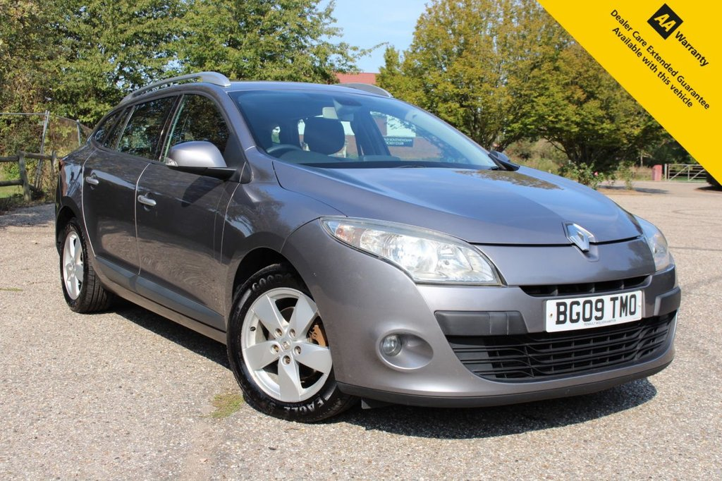 USED 2009 09 RENAULT MEGANE 1.5 TOMTOM EDITION DCI 5d 106 BHP ** FULL SERVICE HISTORY ** BRAND NEW ADVISORY FREE MOT - EXPIRY SEPT 2021 ** SAT NAV ** CRUISE CONTROL ** BLUETOOTH ** AIR CONDITIONING ** KEYLESS ENTRY + PUSH BUTTON START ** AUTO LIGHTS + WIPERS ** ONLY £30 ROAD TAX ** LOW RATE £0 DEPOSIT FINANCE AVAILABLE **
