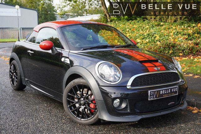 USED 2014 14 MINI COUPE 1.6 JOHN COOPER WORKS 2d 208 BHP - FREE DELIVERY* *GREAT SPEC, SAT NAV, CRUISE CONTROL, STUNNING CAR!*