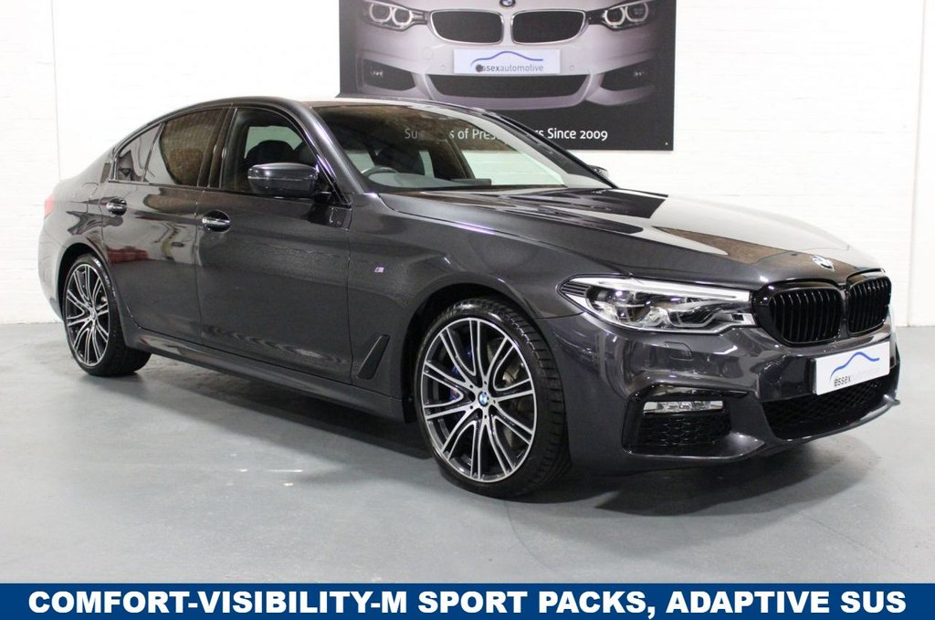 USED 2018 18 BMW 5 SERIES 540i xDrive M Sport 4dr BIG SPEC