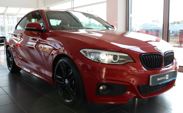 2015 15 BMW 2 SERIES 2.0 225D M SPORT 2d 215 BHP