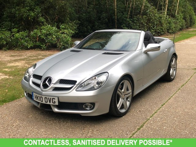 USED 2010 10 MERCEDES-BENZ SLK 1.8 SLK200 KOMPRESSOR 2d 184 BHP 1 OWNER  FMSH, MANY EXTRAS, FINANCE ME TODAY-UK DELIVERY POSSIBLE