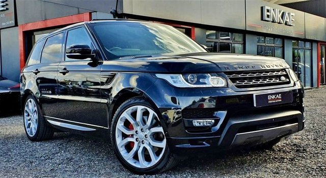 2017 17 LAND ROVER RANGE ROVER SPORT 3.0 SDV6 AUTOBIOGRAPHY DYNAMIC 5d 306 BHP