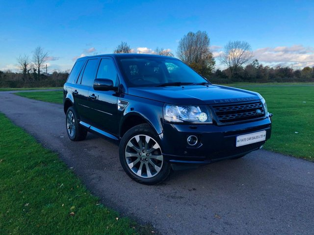 2013 62 LAND ROVER FREELANDER 2 2.2 SD4 HSE LUXURY 5d 190 BHP (FREE 2 YEAR WARRANTY)