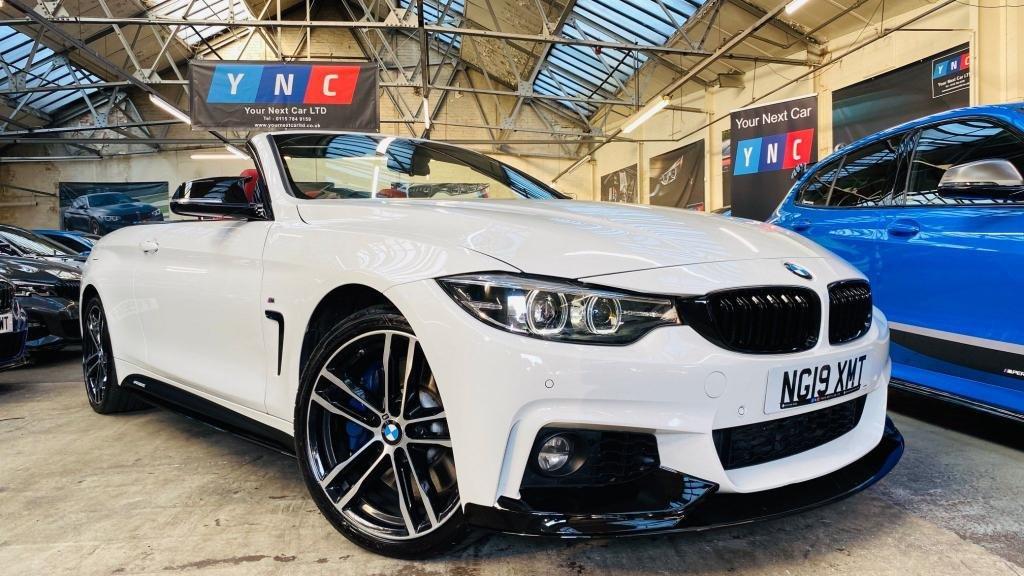 USED 2019 19 BMW 4 SERIES 3.0 435d M Sport Auto xDrive (s/s) 2dr PERFORMANCEKIT+PLUSPK+COMFRTPK