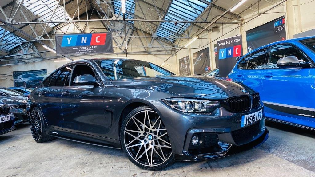 USED 2019 19 BMW 4 SERIES 2.0 420i GPF M Sport Gran Coupe Auto (s/s) 5dr PERFORMANCEKIT+20S+4000MILES!