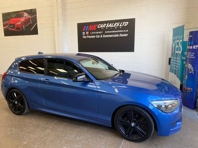 USED 2013 13 BMW 1 SERIES 2.0 116D M SPORT 3d 114 BHP JUST BEEN SERVICED BRAKES DONE ALL ROUND  REAL EYE CATCHER