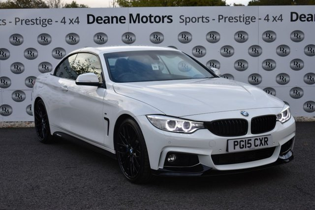 2015 15 BMW 4 SERIES 3.0 430D M SPORT 2d 255 BHP PERFORMANCE PACK