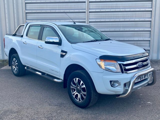2015 65 FORD RANGER 2.2 LIMITED 4X4 DCB TDCI AUTOMATIC 148 BHP