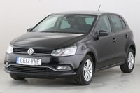 USED 2017 17 VOLKSWAGEN POLO 1.0 MATCH EDITION 5d 74 BHP 1 OWNER | BLUETOOTH | DAB | AC