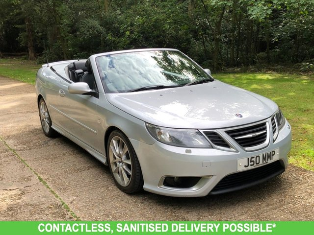 USED 2008 J SAAB 9-3 2.8 AERO V6 2d 247 BHP AUTOMATIC, LOW MILEAGE VERY NICE CAR. DELIVERY POSSIBLE.