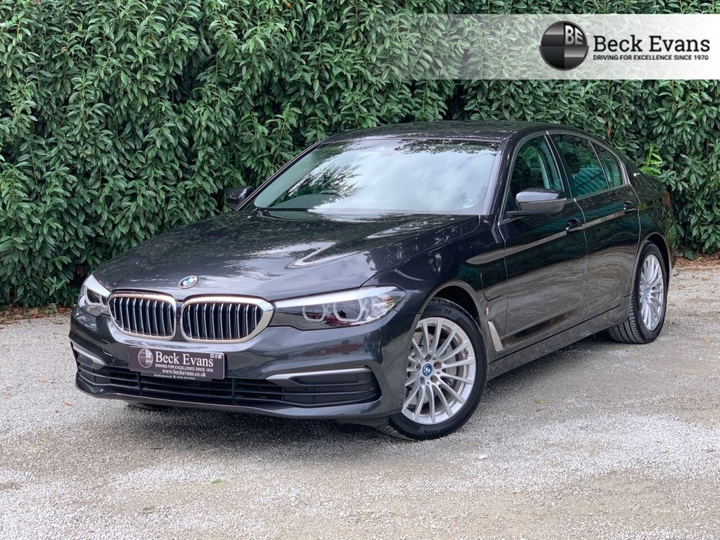USED 2018 68 BMW 5 SERIES 2.0 530E SE 4d 249 BHP