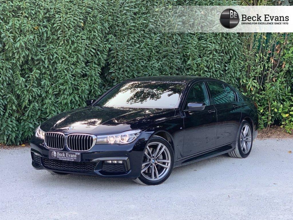 USED 2018 BMW 7 SERIES 3.0 730D M SPORT 4d 261 BHP