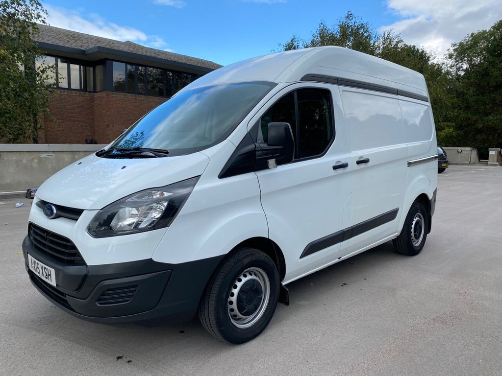 USED 2015 15 FORD TRANSIT CUSTOM 270 ECO-TECH 2.2TDCi 100ps L1H2 *E/WINDOWS*BLUETOOTH* GREAT FINANCE RATES AVAILABLE!