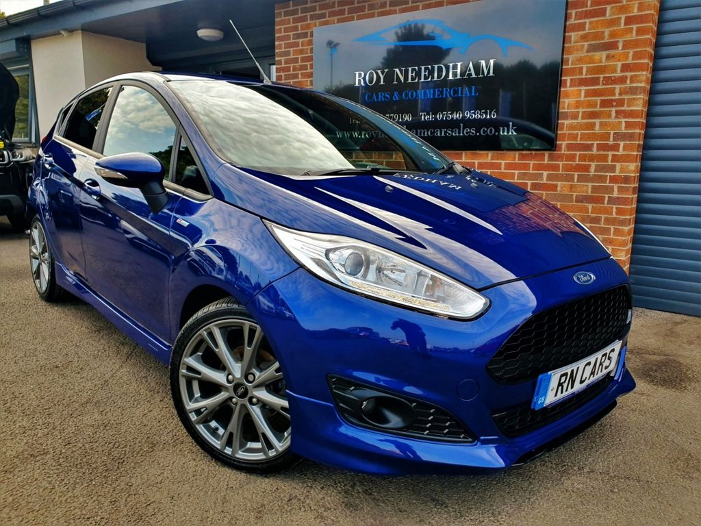 USED 2016 66 FORD FIESTA 1.5 ST-LINE TDCI 5DR 94 BHP *** NAV - A/C - FINANCE AVAILABLE ***