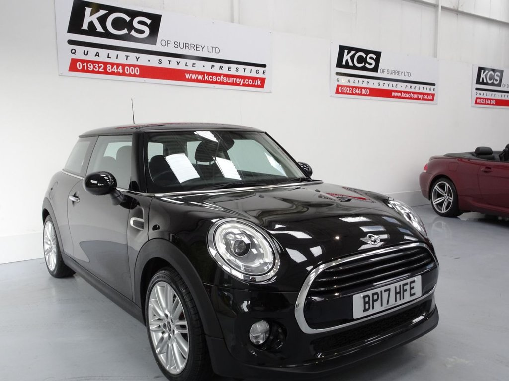 USED 2017 17 MINI HATCH COOPER 1.5 COOPER D 3d 114 BHP CHILI PACK - VISUAL BOOST