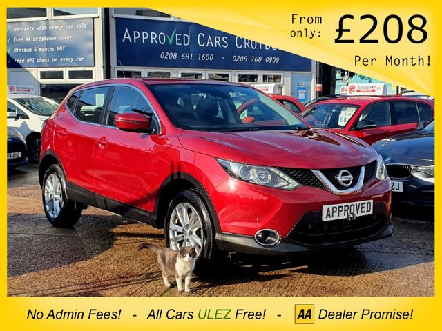 USED 2017 17 NISSAN QASHQAI 1.2 ACENTA DIG-T SMART VISION XTRONIC 5d 113 BHP