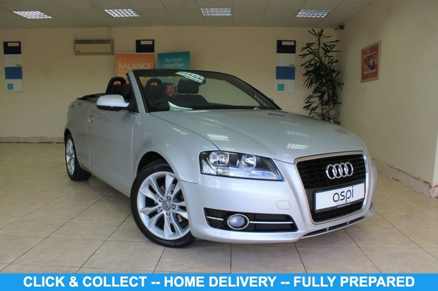 USED 2013 13 AUDI A3 1.6 TDI SPORT FINAL EDITION 2d 105 BHP BLACK VIENNA LEATHER, REAR PARKING AID, CLIMATE CONTROL, HEATED FRONT SEATS, BLUETOOTH, HEADLIGHT WASH, LOW MILES, ECONOMICAL CONVERTIBLE